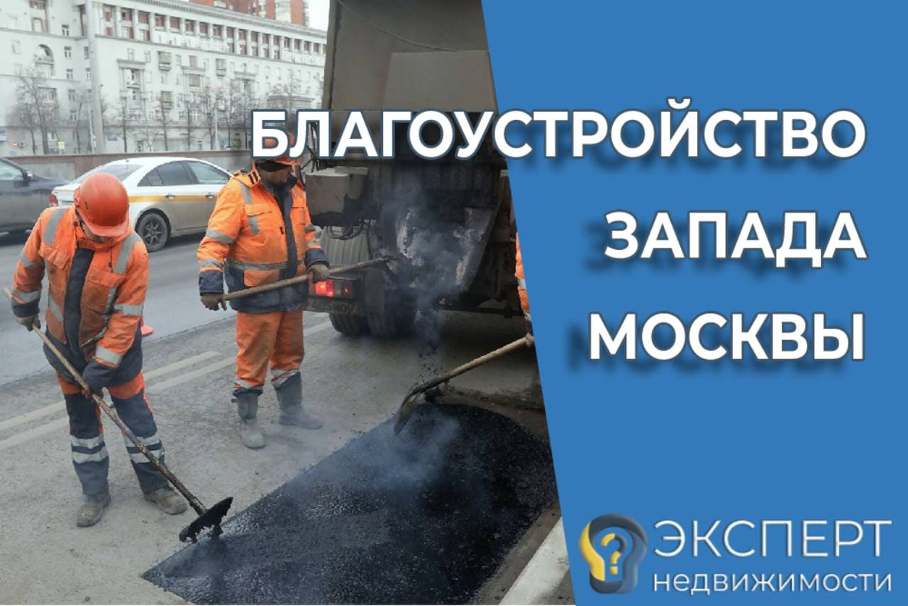 Благоустройство ЗАО Москвы. Проект